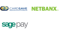 CardSave, Netbanx and SagePay (the new name for Protx)