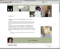 Julie Maclean - Website Design