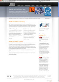 Health and Safety Works - Website Redesign