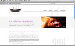 Website Design » The Catering Experience