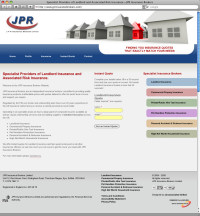 JPR Insurance Limited - Website Redesign