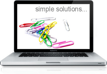simple solutions...